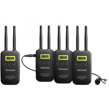 Saramonic VmicLink5 Sistema inalámbrico de micrófono Lavalier