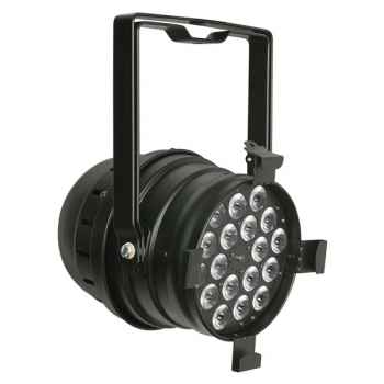 Showtec LED Par 64 Short Q4-18 Foco Par Negro 42468