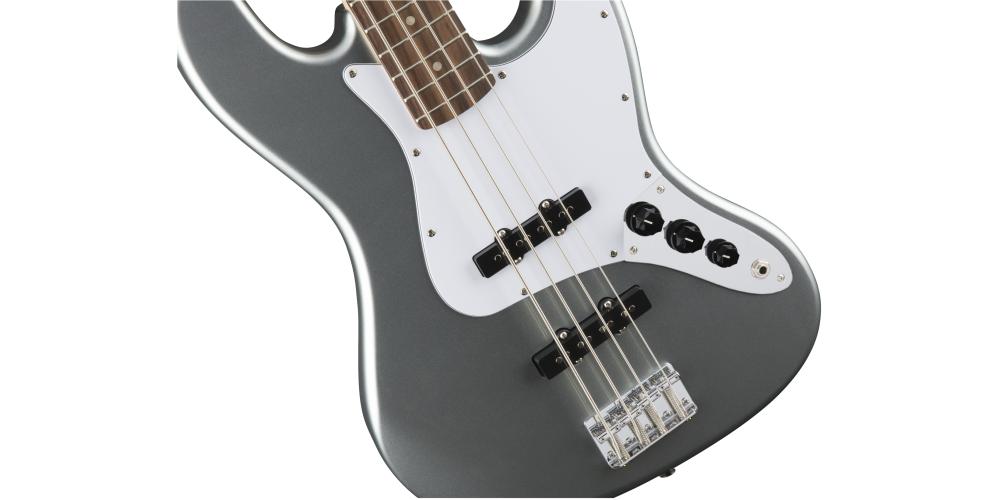 fender squier affinity jazz bass slick silver golpeador