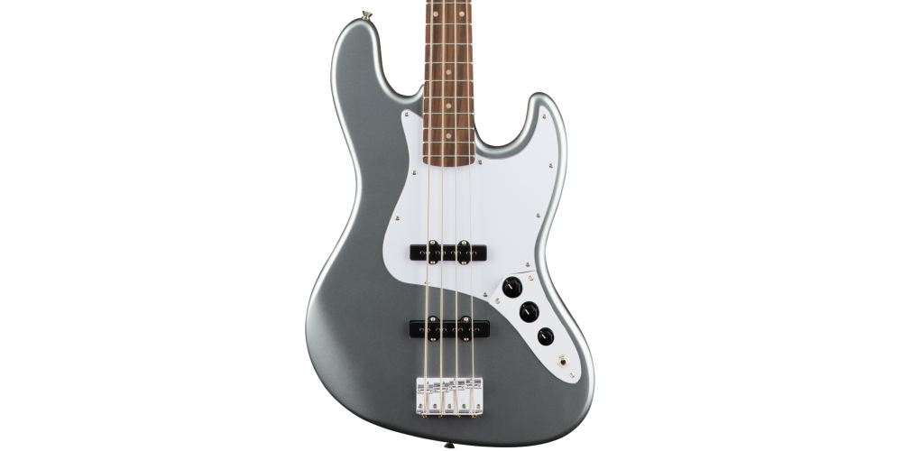 fender squier affinity jazz bass slick silver laurel