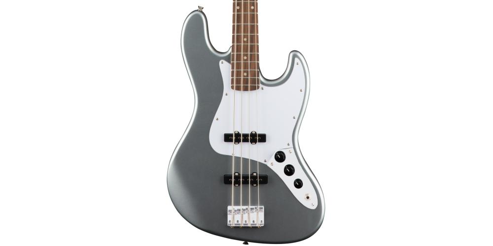 fender squier affinity jazz bass slick silver laurel