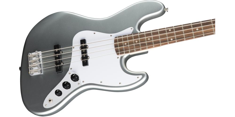 fender squier affinity jazz bass slick silver pastilla