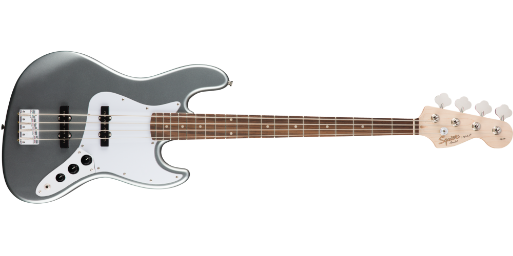 fender squier affinity jazz bass slick silver