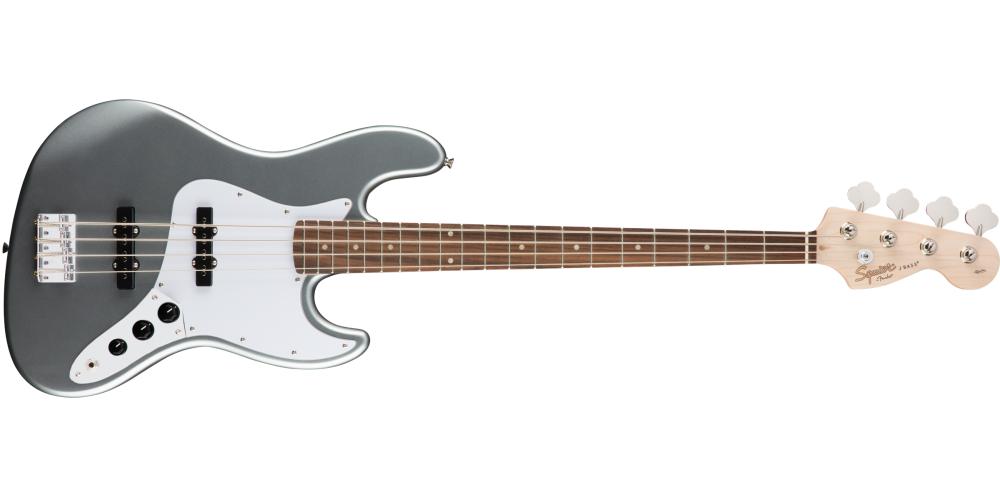 fender squier affinity jazz bass slick silver