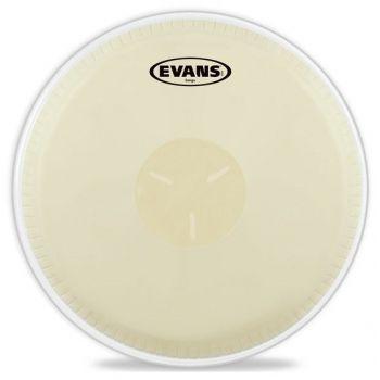 Evans EB09, Parche Sintético, 3 Capas, Para Bongo, Acabado Blanco