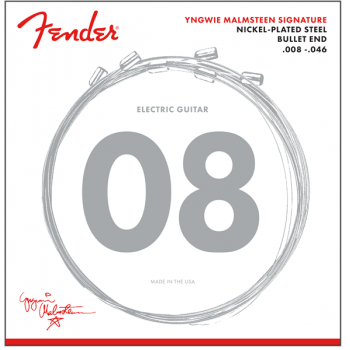 Fender Cuerdas de guitarra electrica Yngwie Malmsteen Signature .008-.046