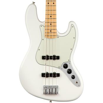 Fender Player Jazz Bass MN Polar White Bajo Eléctrico