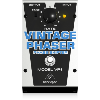 BEHRINGER VP1 Pedal Vintage Phaser Cambiador de Fase