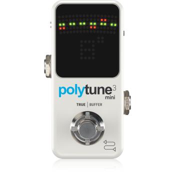 TC Electronic Polytune 3 Mini Pedal Afinador