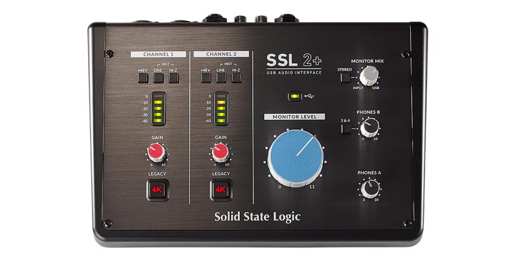 SSL 2 plus INTERFACE AUDIO