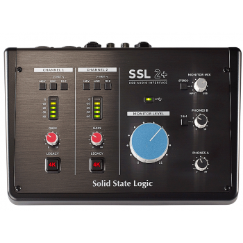 SSL 2+ 2 x 4 USB-C Interface Audio