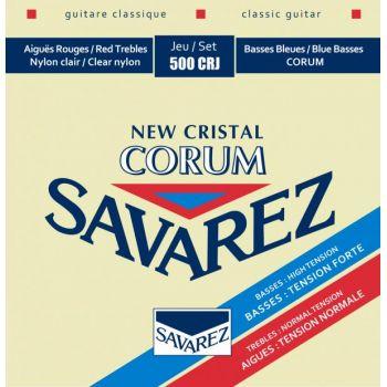 Savarez 500CRJ Corum New Cristal Set Cuerdas Guitarra Clásica de Concierto