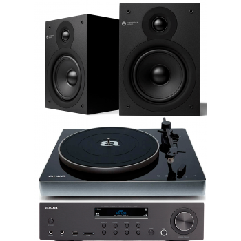 AIWA AMU-120BT+PX-680BT+Cambrige Audio SX-50 V2 Matt Conjunto Audio Hifi