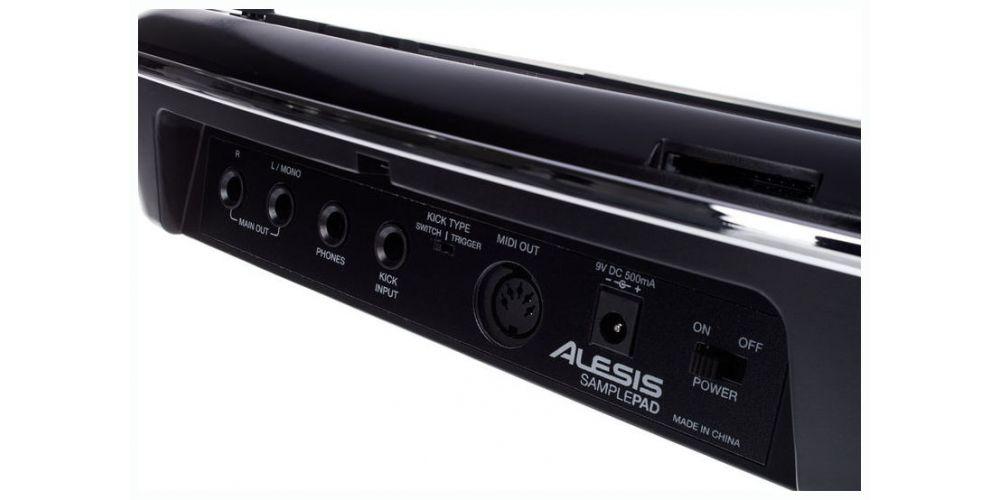 ALESIS SAMPLED PAD Percusion caja de ritmos