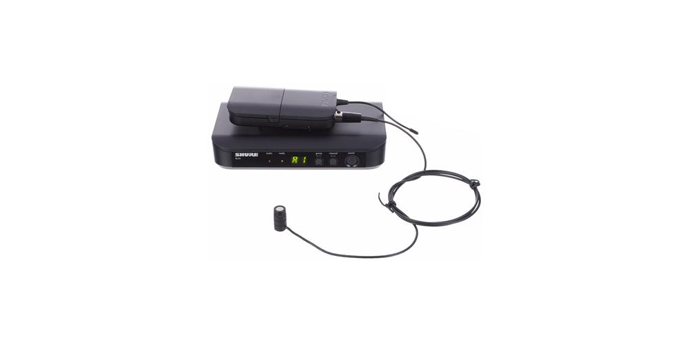 SHURE BLX14E W85 Microfono inalambrico de Solapa BLX-14W85