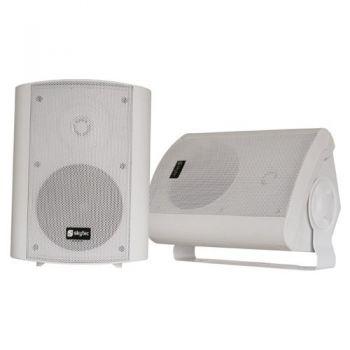 SKYTEC 100020 Conjunto de Altavoces Stereo Blanco 100W