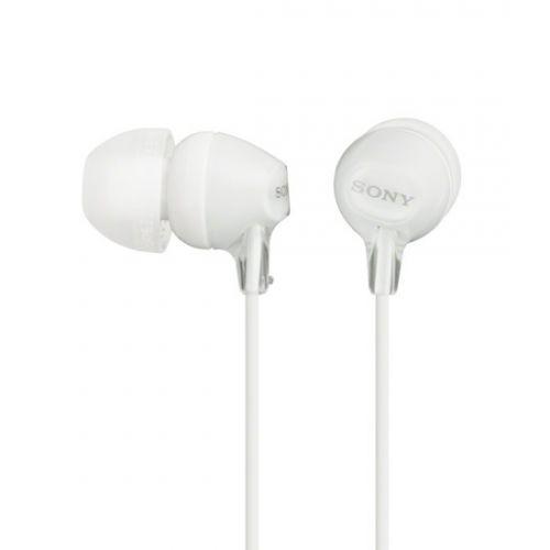 SONY MDR-EX15LPW Auricular Intraural Blanco