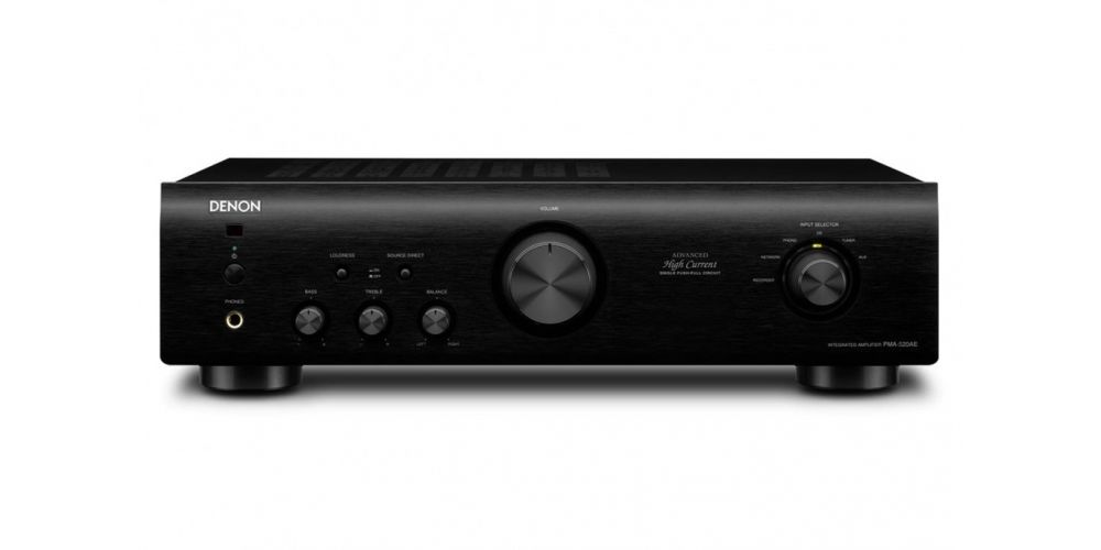 denon pma520 bk amplificador