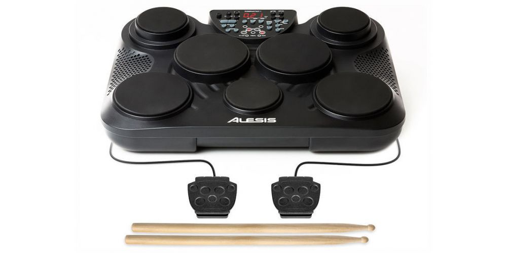 alesis compact kit 7 bateria rear