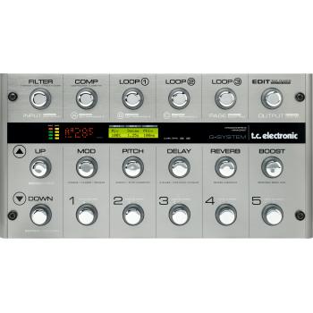 TC Electronic G-SYSTEM Multiefectos para Guitarra