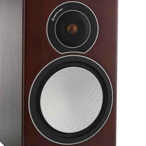 monitor audio silver2 walnut roble