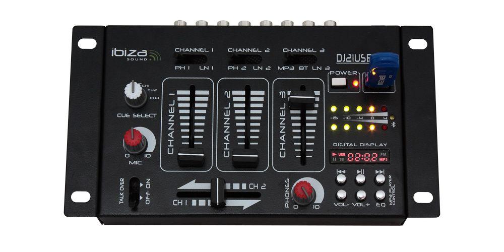 Ibiza Sound DJ 21 Usb Bluetooth