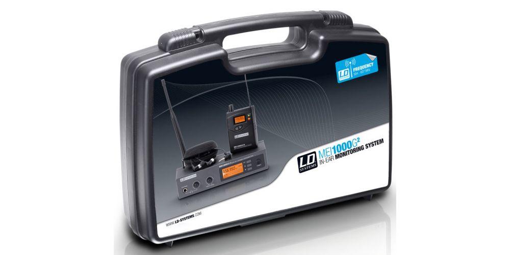 LD Systems MEI 1000 G2 B 6 Sistema de Monitoraje inalámbrico