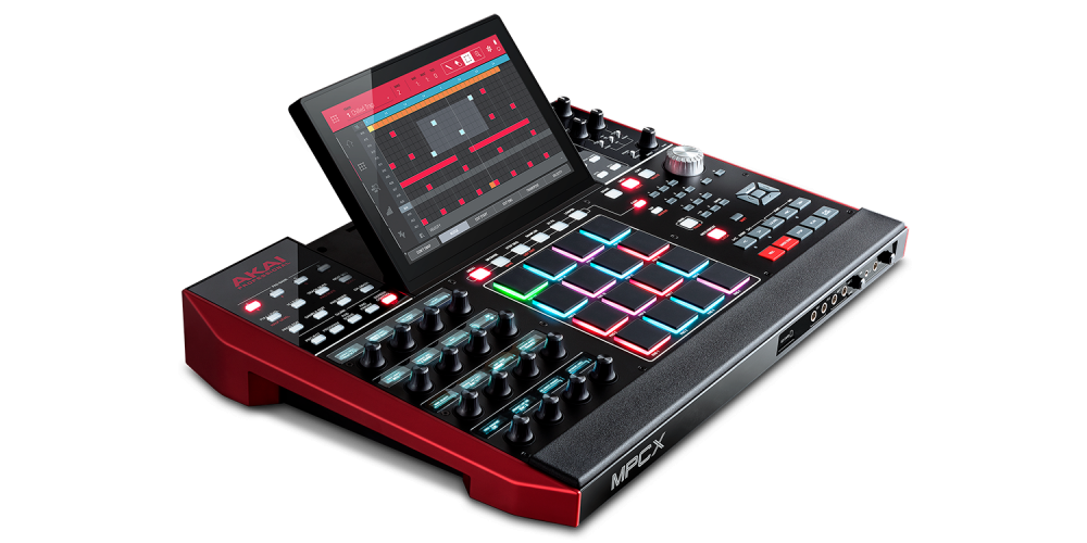 mpc x akai rear