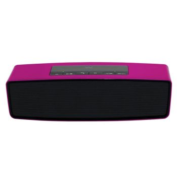 WOXTER BIG BASS BT-10 Rosa Altavoz Bluetooth