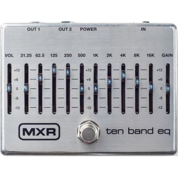 Dunlop MXR M108S Pedal FX ECUALIZADOR 10 BANDAS