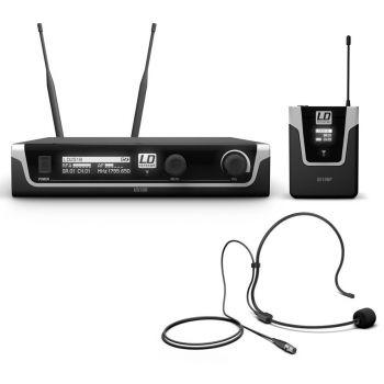 LD Systems U518 BPH Sistema Inalámbrico con Petaca y Micrófono de Diadema