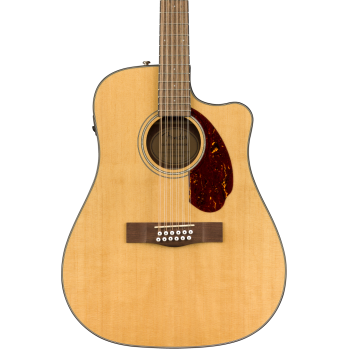 Fender CD-140SCE-12 Natural + Estuche Guitarra Acústica
