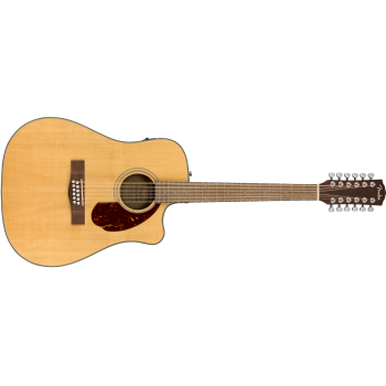 Fender CD-140SCE-12 Natural + Estuche