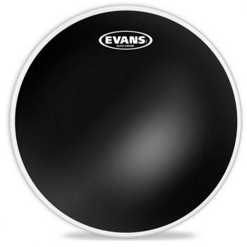 Evans 06 Black Chrome Parche de Tom TT06CHR
