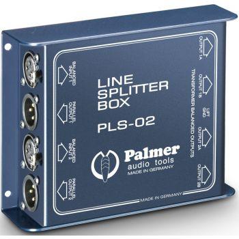 Palmer PLS-02 Splitter de Línea de 2 Canales