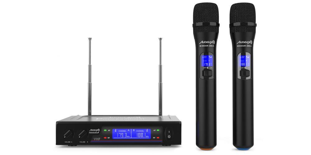 audibax missouri 2000 a microfono