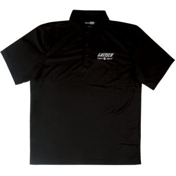 Gretsch Power & Fidelity Golf Shirt Black Talla XXL