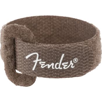 Fender Cable Ties 7 Black - Brown Pack 6