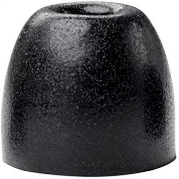 SHURE EABKF1-100M Kit 100 Almohadillas Goma para Earphones SE.Tamaño Medio Color negro