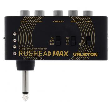 Valeton Rushead Max Amplificador de Auriculares para Directo
