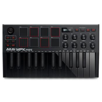 AKAI MPK MINI MK3 Black Teclado Controlador Midi Ahora con Software MPC Beats