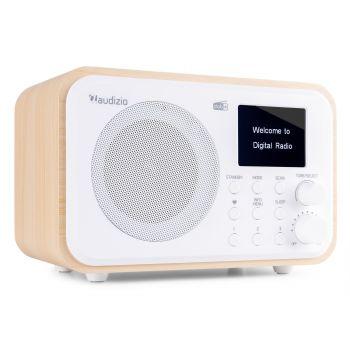 Audizio Milan Radio Portable DAB + BT con Batería Color Blanco 102210