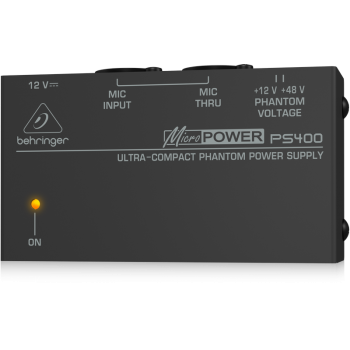 Behringer PS400 Alimentador Phantom Portatil
