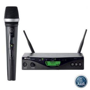 AKG WMS-470 D5 Microfono Inalambrico Sist. , SR470 + HT470 Caps. D5