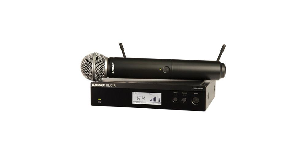 SHURE BLX24R SM58 Microfono inalambrico de Mano BLX-24RSM58