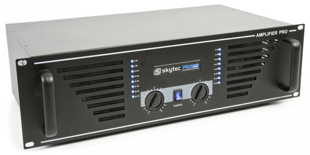 SKYTEC SKY 1000B  Amplificador PA  2x 500W 172035