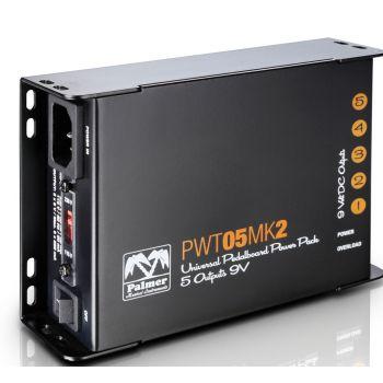 PALMER PWT05MKII Fuente alimentación universal de 9 V para pedalera