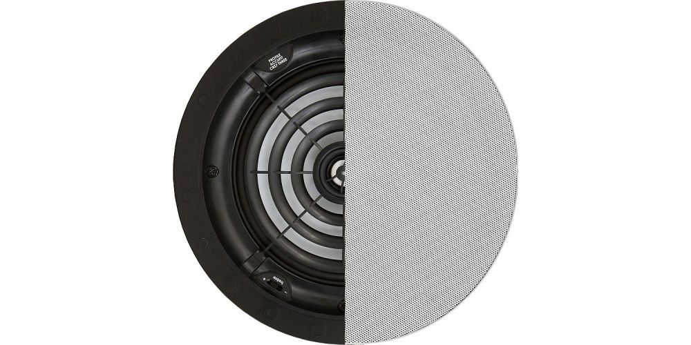 speakercraft profile accufit crs7 three montaje empotrar techo rejilla pintable