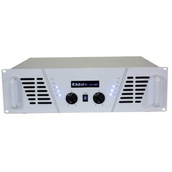 Ibiza Sound Amp 1000 White