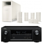 DENON AVR-X3200 + Bose AM-10-V-White